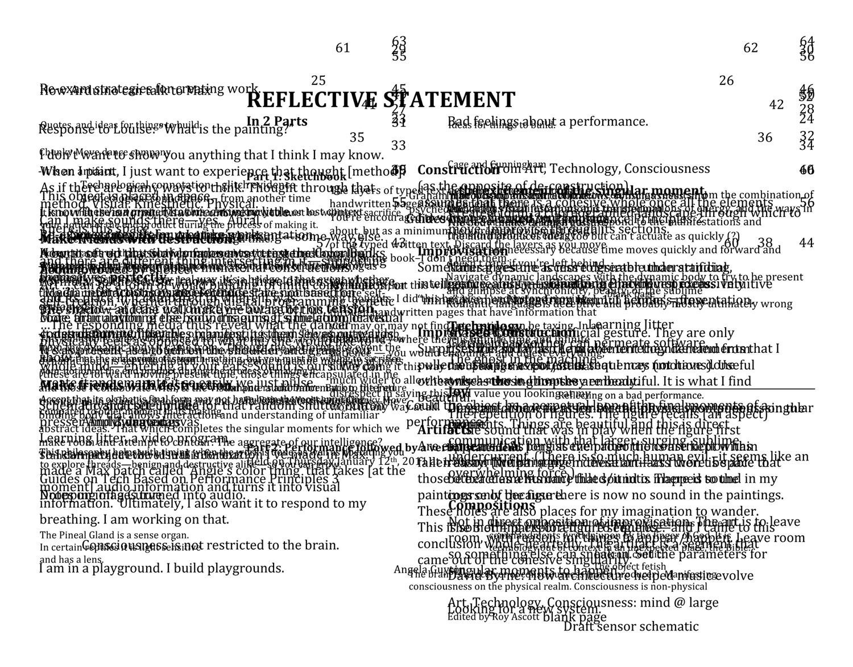 reflective statement metadata